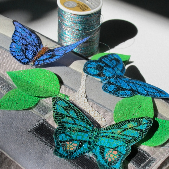 thread and butterflies